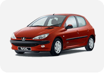 car rental 206