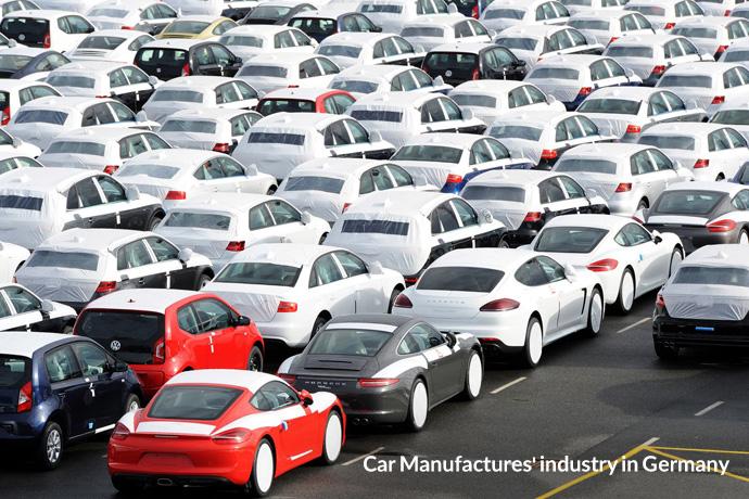 صنعت خودرو سازی در آلمان